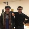 Sergio Servellón og Christian Vittinghoff, gamle Ocober Octopus medlemmer.