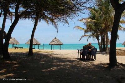 Strand i Tanzania