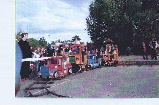Karusell - Minitåg (Tuff-Tuff Tåg)