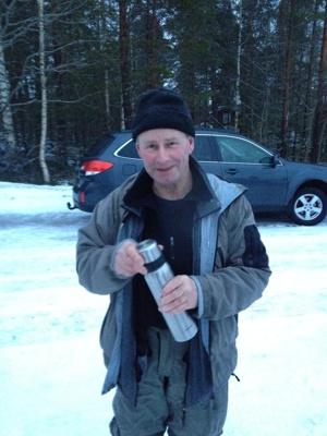 Dagens totalsegrare P-A Nyberg med en klassisk termosbild!