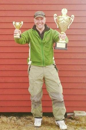 Benny Jansson som vann VIkinganappet