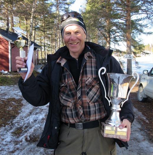 Efter 4 andraplatser fick Janne Johansson äntligen kliva överst i Norrdonsnappet