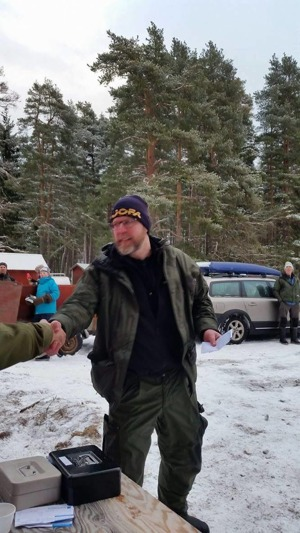 Söndagens segrare Tommy Wadlund
