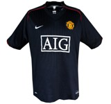 MANCHESTER UNITEDs andratröja 2007 - 2008 front