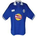 Till LEICESTER CITYs första tröja 1998 - 2000