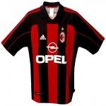 Till MILANs hemmatröja 2001 - 2002