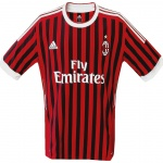 Till MILANs hemmatröja 2011 - 2012
