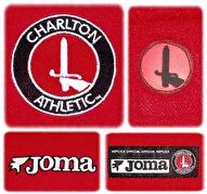 CHARLTON ATHLETICs förstatröja 2003 - 2005 detaljer
