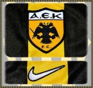 AEK FCs förstatröja 2002 - 2004 detaljer