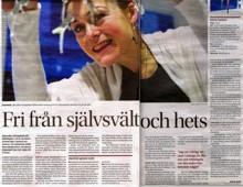 Göteborgs Posten - Smycke - Yoga - Ätstörning - Maria Cerboni