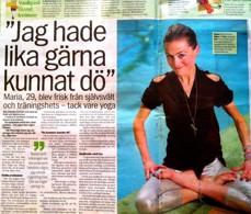 Maria Cerboni - Yoga mot ätstörningar - Ortorexi