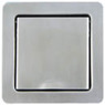 INOX-Design, brushed stainless steel