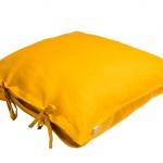 Stonewashed Linen Pillow Anc Gold