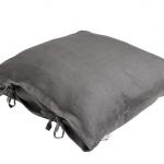 Stonewashed Linen Pillow Dark Olive