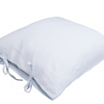 Stonewashes Linen Pillow Dusky Blue
