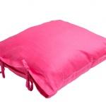 Stonewashed Linen Pillow Fuccia