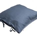 Stonewashed Linen Pillow Light Grey