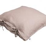 Stonewashed Linen Pillow Loam