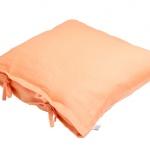 Stonewashed Linen Pillow Orange