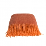 Mohair Orange & Brick Melange
