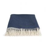 Wool Blue & White Melange