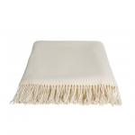 Cashmere Blanket Bone White