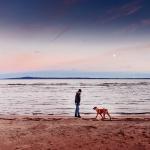 Freja and the sea