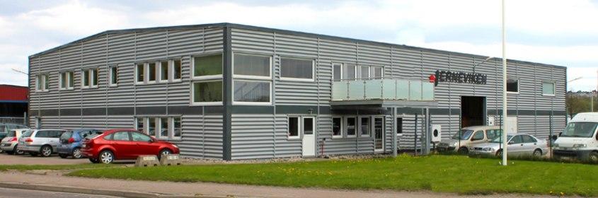 Jerneviken huvudkontor, produktion och lager i Hisings Backa/Göteborg