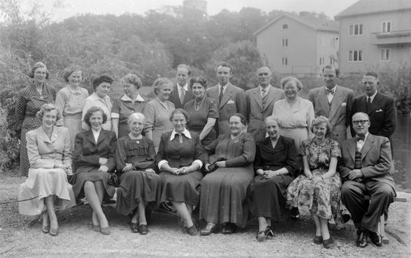 Lärare i Kungälv, någon gång på 1950-talet
