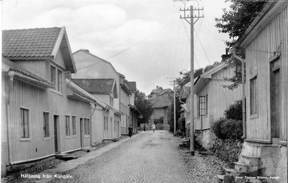 Västra gatan på 1920-talet