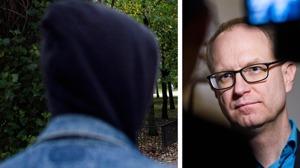 Barnombudsman Fredrik Malmberg vill se ett nationellt grepp i frågan om ensamkommande barn som försvinner. Foto: Robin Haldert/TT samt Bertil Enevåg Ericson/TT.