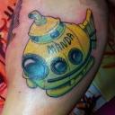 submarine-freehand