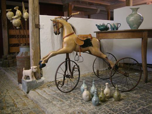 Invigning av atelje Brobergs Krukmakeri & Le Rocking Horse i Köinge utanför Ullared