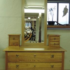 Buffé färdig med ny spegel - ask