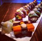 Spectacular vegan sushi at Beyond sushi. E.14th St.