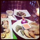 Vegan Korean food at Franchia Café, Park Av.