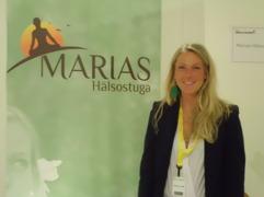 Marias Hälsostuga på Expo Hälsa och Träning i Linköping, januari 2014