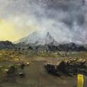 Vulkanlandskap-