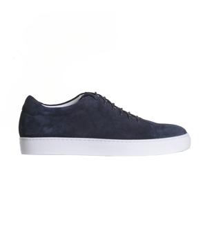 Wallace blå mocka sneakers