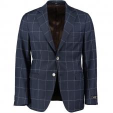 Eliot Blå Windowpane Kostym 4015-49