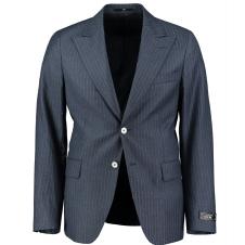Harvey Blå Pinstripe Kostym 4037-48