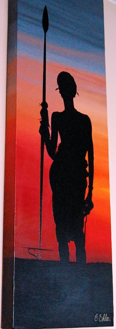STOLT ~ Oil on canvas, 30x90 cm  -  Såld!