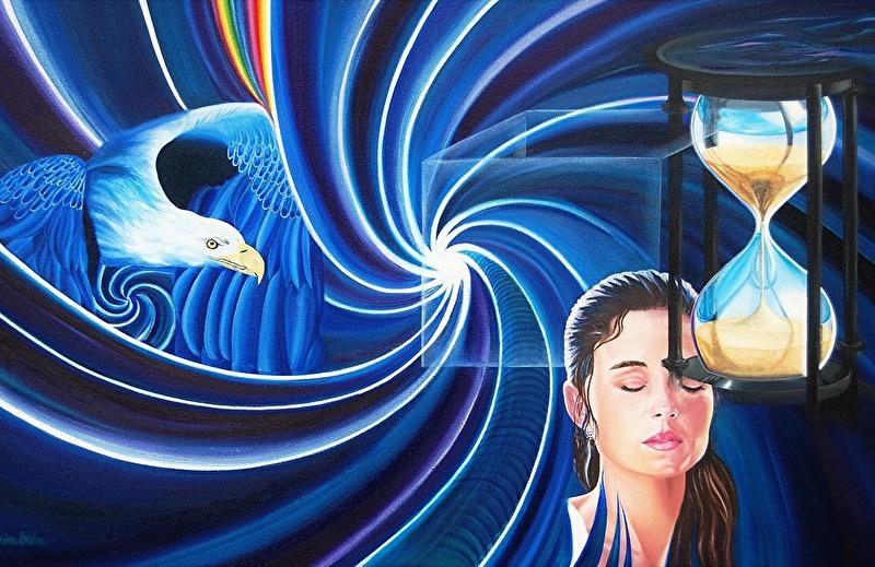 Mind Over Matter - 80x50 cm - Olja på kanvas