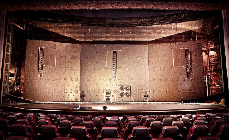 Cinema Sound System by Experience live - Cinema Line Array - You can feel the movies.