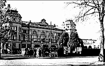 Hotell Billing 1940-tal.   (Skövde Stadsmuseum)