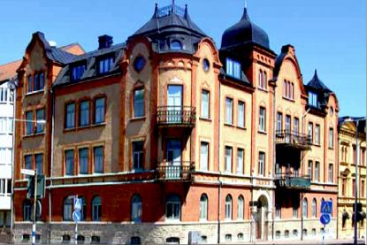 Skolgatan 14 idag (Byggmästare C A Johansons hus)