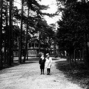 Promenad i parken