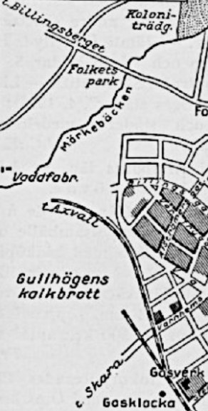 Karta 1935. (www.vykort.panatet.se)