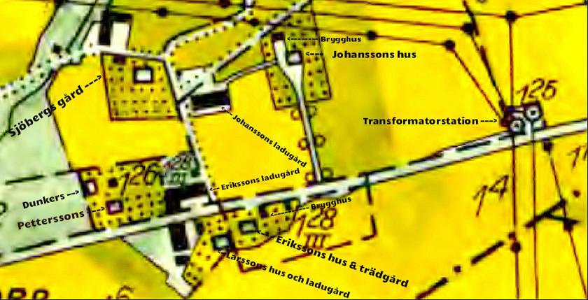 Lantmäteriet Historiska Kartor, 1960 års ekonomiska karta.