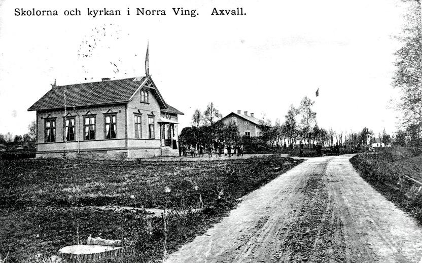 Vykort ur Sten Lövgrens samling, Kungälv, 2015
